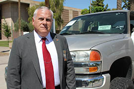 Frederick Zumbo, executive director of Arizona Automobile Theft Authority, says auto theft has become less of a problem in the state but remains a challenge for law enforcement and residents.