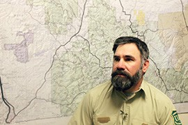 Kendal Wilson, fire management officer for the Sierra Vista Ranger District, said the most important takeaways from the Monument Fire were the need for education and for collaboration among agencies and neighbors.