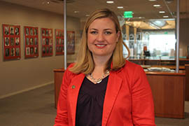 Phoenix City Councilwoman Kate Gallego says her Arizona driver's license couldn't get her into a federal building in Washington, D.C., because the state doesn't comply with the REAL ID Act of 2005. A state lawmaker wants to allow Arizonans to get licenses that comply with the act – provided they pay for them.