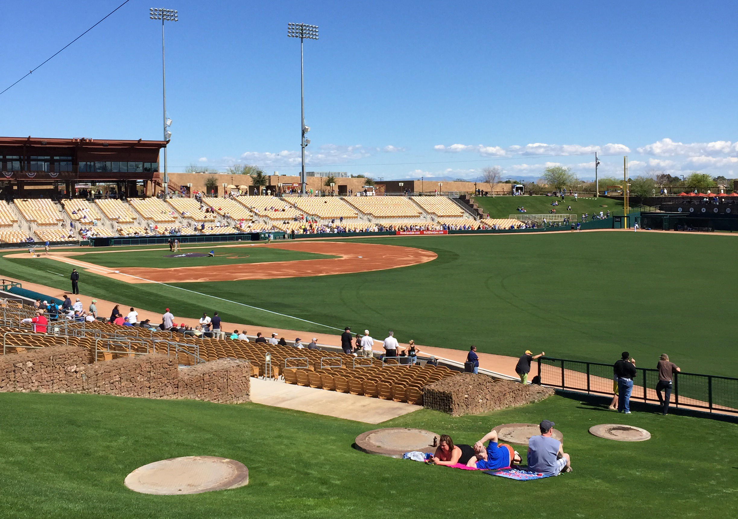 Camelback Ranch has been the spring training home of the Los Angeles Dodgers and Chicago White Sox since in opened in 2009.