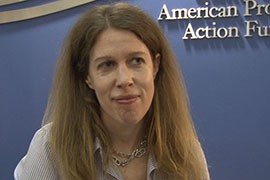 Catherine Brown, vice president of education policy for the Center for American Progress, agrees it is time to revamp the act, but does not want to see the retrenchment pushed by conservatives.