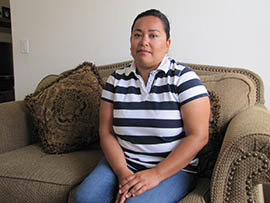 Monica Alegria of Glendale says she and her husband lost $2,000 and face deportation because of paperwork errors after becoming victims of notario fraud.