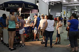 Concession vendors receive most of their business prior to games, meaning a faster game won't bring down sales.