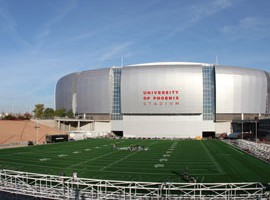 University of Phoenix Stadium is the hub for the Valley's mega events.