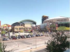 Super Bowl XLIX was played in Glendale, but with so many associated events taking place in downtown Phoenix, businesses in the city's core posted enormous numbers and are looking forward to additional major sporting events coming to the Valley of the Sun.
