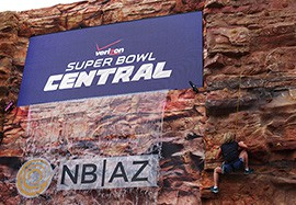 """The Grand Canyon Experience at Super Bowl Central was the """"wow"""" factor of Super Bowl week."""