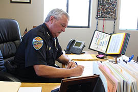 Kingman Police Chief Robert DeVries says money from asset forfeitures is essential for task forces such as Mohave Area General Narcotics Enforcement Team, or MAGNET, which his department heads.