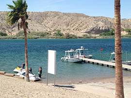 The Colorado River near Bullhead City is popular with anglers looking to catch rainbow trout. Local leaders and businesses are celebrating an agreement to reopen a federal hatchery that has stocked the river and Lake Mohave.