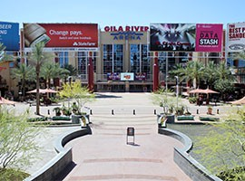 Westgate Entertainment District in Glendale saw a big boost in business with the Super Bowl, but business owners say not having the NFL Experience there hurt their profits.