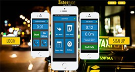 asterRIDE doesn't provide the cars or drivers, but it acts as a dispatch service.