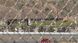 Workers at the port say there is a significant improvement in speed and safety going through the border. But traffic problems leading from Nogales to the port remain because there is only one road.