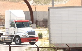 Though the Mariposa Port of Entry processes hundreds of thousand of trucks each year, it pales in comparison to some ports located in California and Texas.