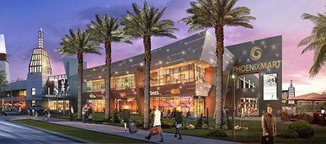 PhoenixMart will focus on six industries: home and hotel; electronics and accessories; food and beverage; industrial and automotive; and fashion and variety.