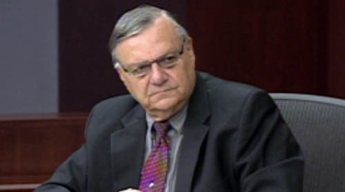 On Cronkite NewsWatch today Sheriff Joe Arpaio appeared in court to testify in an ethics hearing. Protesters gathered in Tucson to take a stand against Obama's immigration policies and a tiny insect could mean big problems for Arizona's citrus crops.