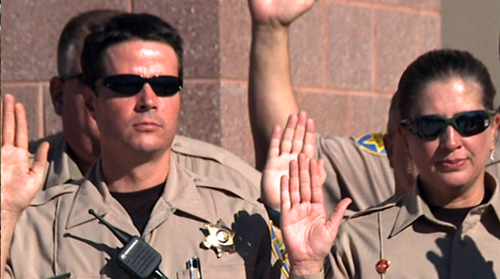 Cronkite NewsWatch takes you to the swear-in ceremony for Sheriff Joe Arpaio's volunteer posse who are focused on fighting illegal immigration and with the number of abandoned horses on the rise in Arizona, we tell you about a new state registry formed to protect them.
