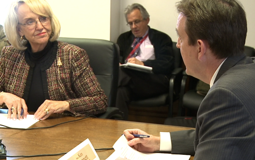Cronkite NewsWatch takes you to the signing of the state canvass that took place today, even though a recount of Proposition 112 is pending, and we go behind the scenes of a special month-long investigation on clean elections.