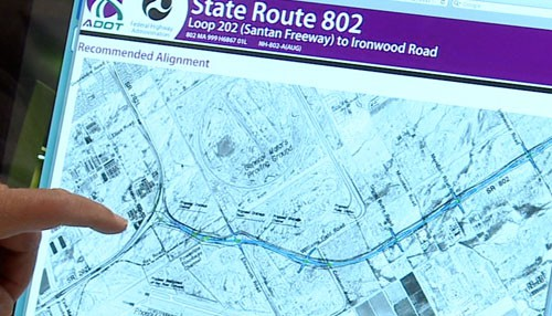 Arizona State Route 24 Map New freeway will make it easier to reach Phoenix Mesa Gateway