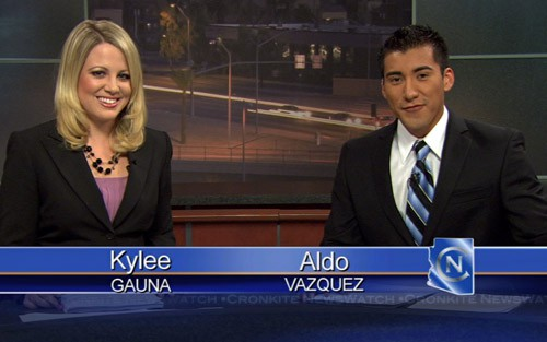 Kylee Gauna and Aldo Vazquez host Cronkite NewsWatch. Top stories include a look at the growing number of independent voters in Arizona, the end of speed cameras on our freeway, and how some schools are providing a unique curriculum in hopes of attracting more students.
