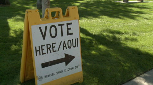 Today on Cronkite NewsWatch tomorrow marks the last day for early voting in Arizona, we show you where and what you'll need in order to say