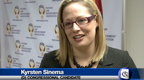 Cronkite NewsWatch takes a look at a new ethics task force created by Phoenix Mayor Greg Stanton. While Democrats rally behind Kyrsten Sinema, one congressional district's primary race gets a recount.