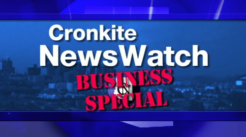 This special business edition of Cronkite NewsWatch highlights everything from big businesses making local headlines to smaller startups making a national name for themselves. We delve into what business owners and politicians are doing to improve the state's position in this highly competitive, economic development arena. And, we look into how the state is investing in, and benefiting from, environmentally friendly initiatives, like solar energy. Plus, we see just how much money is driven into Arizona's economy during the busy spring training season.