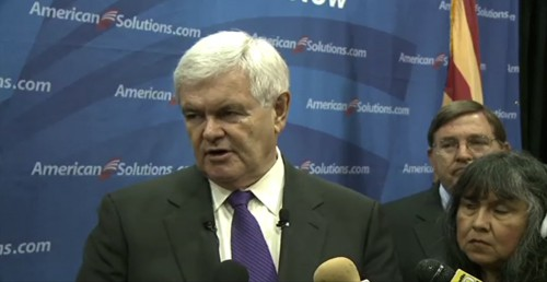 Cronkite NewsWatch covers the Newt Gingrich Tea Party rally at Grand Canyon University and also takes a look at the Tempe streetcar debate.
